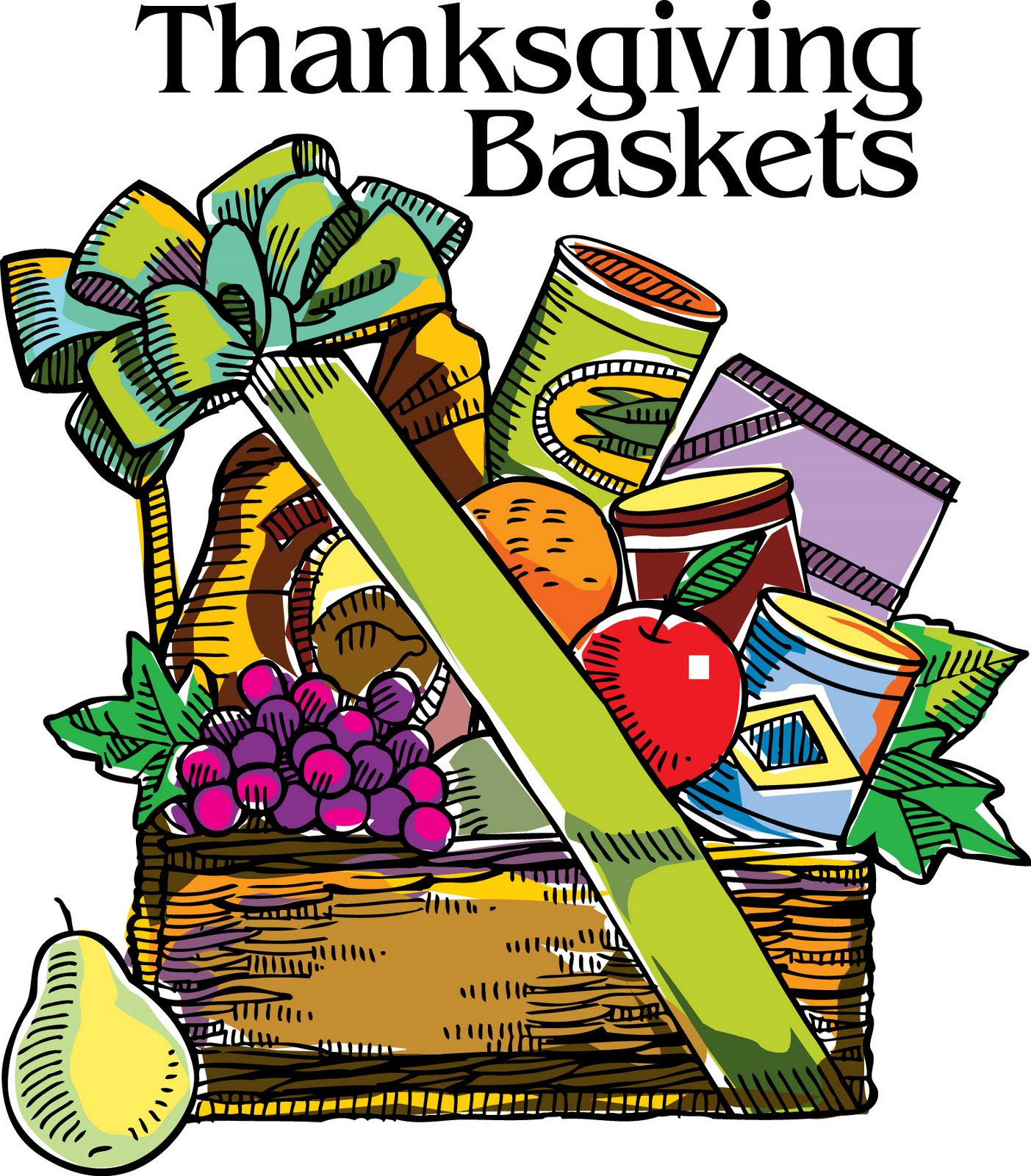 1403x1600 Cornucopia clipart thanksgiving basket