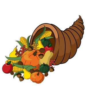 300x300 Free Thanksgiving Cartoon Clipart