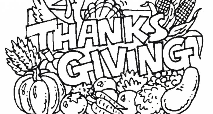 728x393 Download Thanksgiving Coloring Pages And Cutouts