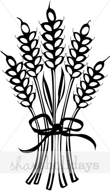 225x388 Wheat Bouquet Clipart Thanksgiving Clipart amp Backgrounds