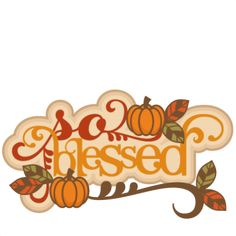 236x236 Thanksgiving Blessings Cliparts