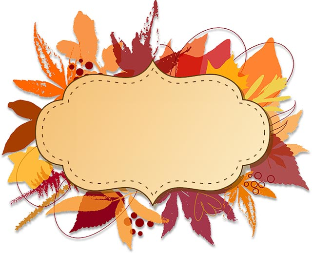 640x519 Thanksgiving Stationery Clipart