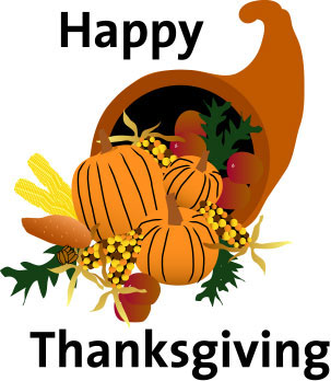 303x348 Thanksgiving Blessings Clip Art