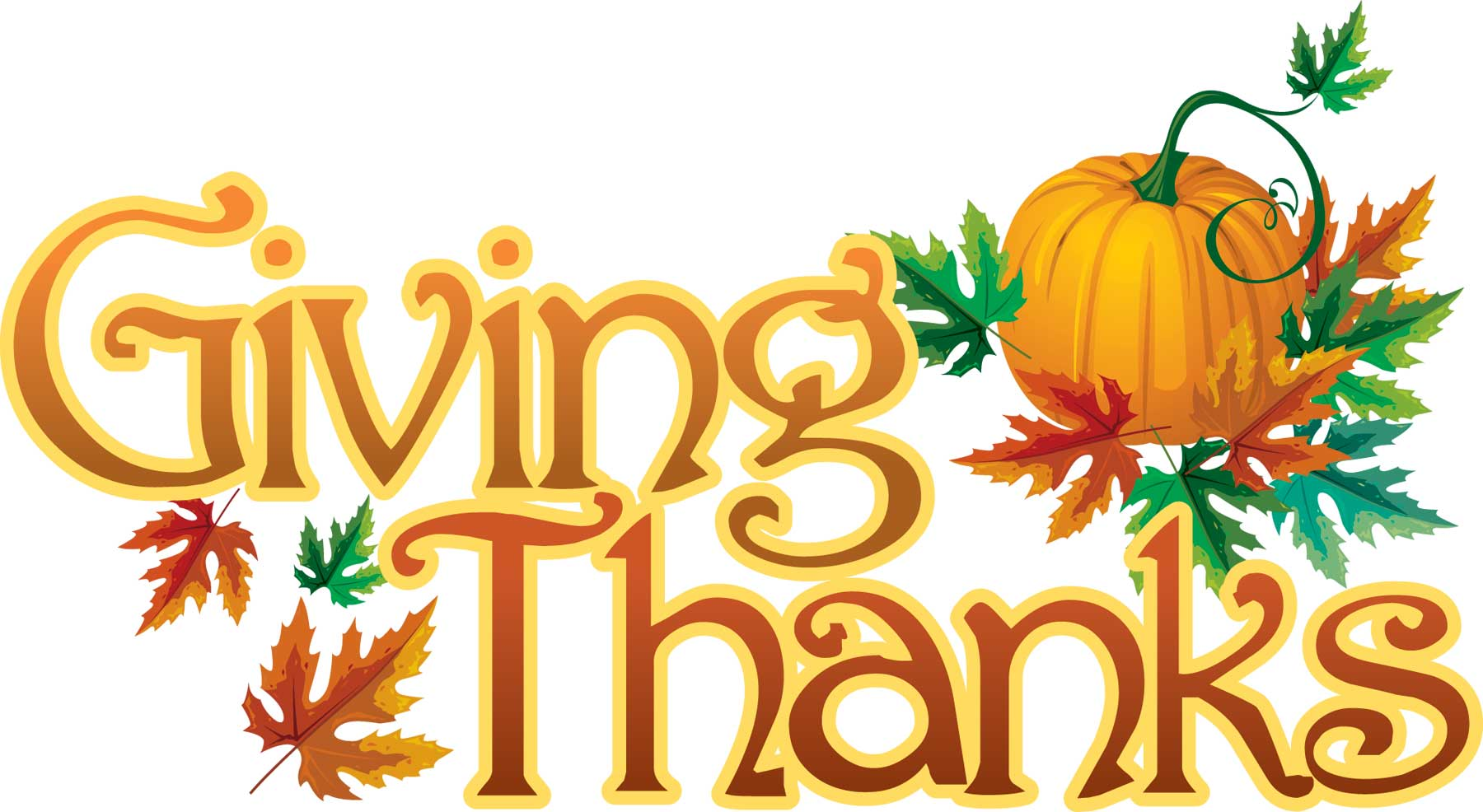 1800x986 Thanksgiving Clipart Give Thanks