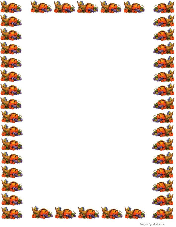 710x915 Thanksgiving Border Images Happy Thanksgiving Border Paper