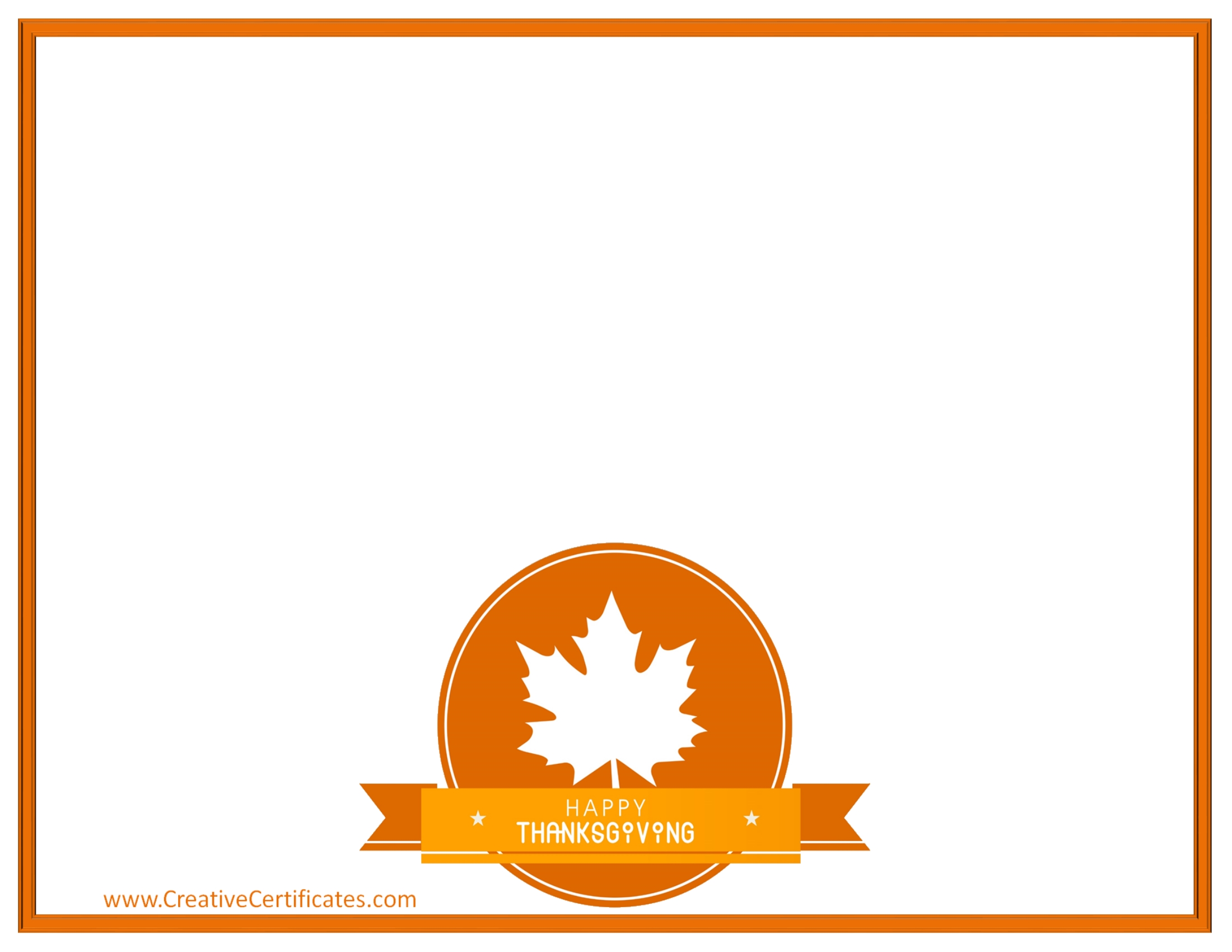 2200x1700 Free Thanksgiving Borders 6
