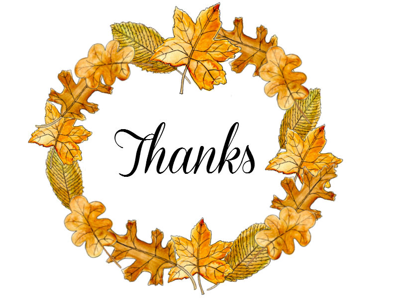 800x600 Give Thanks Clipart