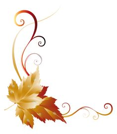 236x271 Transparent Fall Leaves Decor Picture Backgrounds, Borders