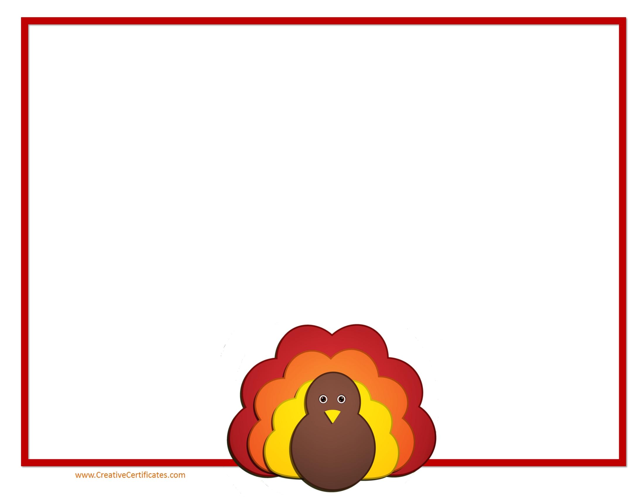 2200x1700 Clip Art Thanksgiving Clip Art Border