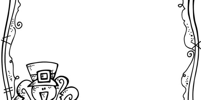 660x330 Thanksgiving Coloring Pages Fancy Borders Thanksgiving Blessings