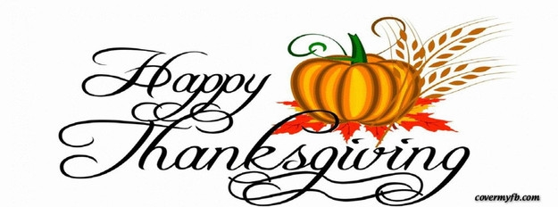 625x232 Thanksgiving Clip Art For Facebook Happy