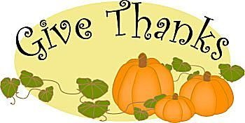 350x176 Clipart Thanksgiving Free