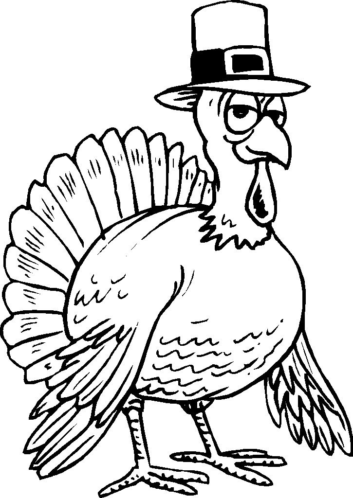 725x1024 Funny Thanksgiving Turkey Clipart (47+)