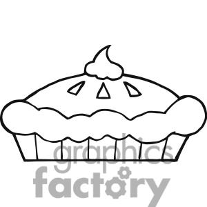 300x300 Pie Clipart Black And White Clipart Panda
