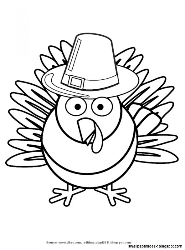 591x800 Thanksgiving Clipart Color