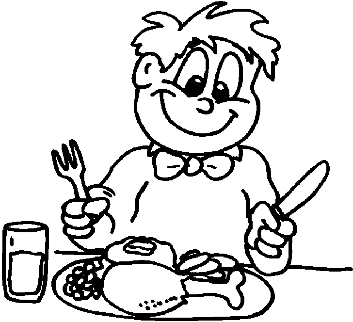 728x664 Eating Lunch Clipart Black And White amp Eating Lunch Clip Art Black