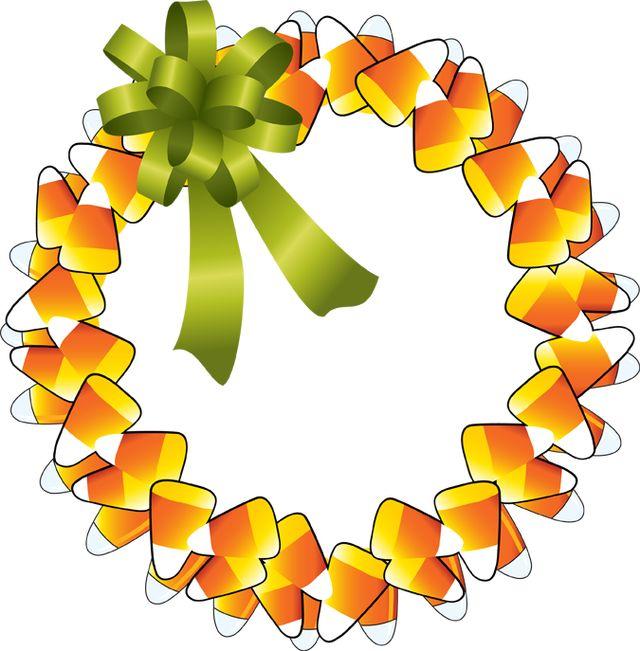 640x651 Wreath Clipart Happy Thanksgiving