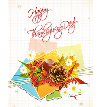 334x352 Free Happy Thanksgiving Day With Turkey Vector Free Vector