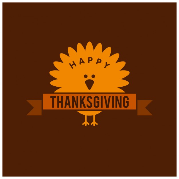 626x626 Nice Brown Background For Thanksgiving Day Vector Free Download
