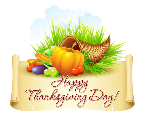 500x433 Thanksgiving Day Design Elements Vector 03