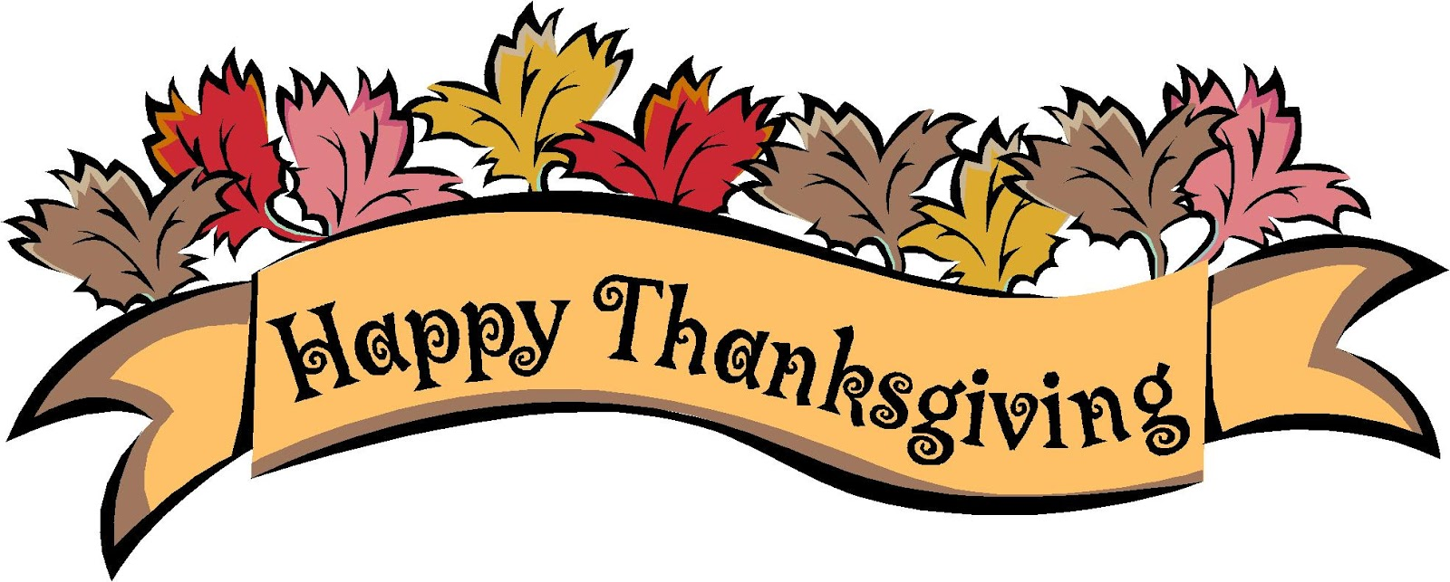 1600x643 Christian Happy Thanksgiving Clipart
