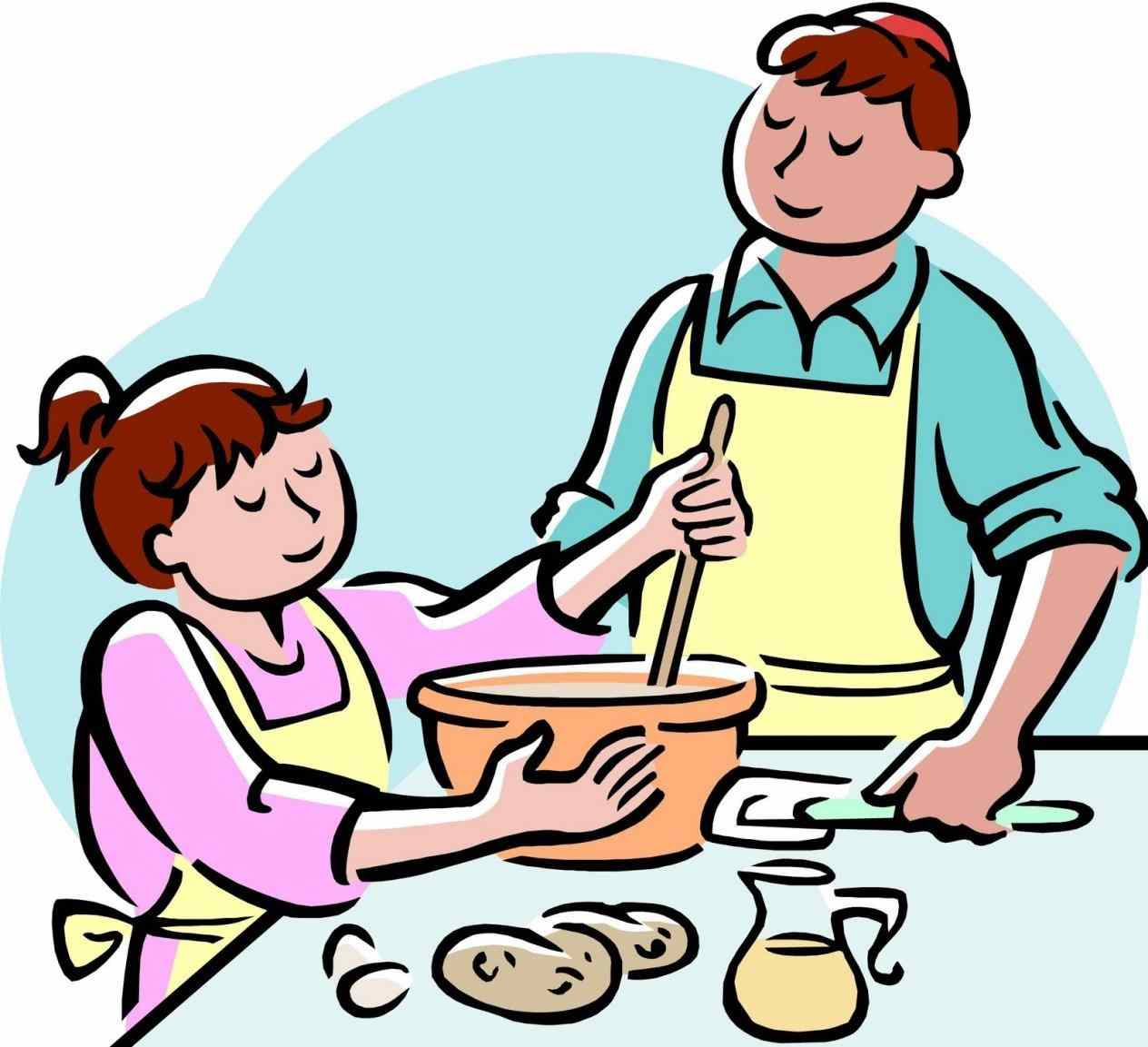 1264x1153 Cooking Family Eating Dinner Together Clipart S Free Download Clip