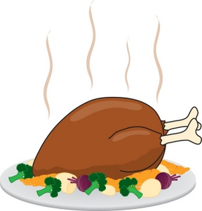 288x300 Free Turkey Clipart Image 0071 0809 0913 1828 Food Clipart