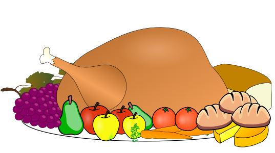 537x300 Plate Clipart Thanksgiving Dinner