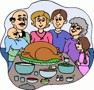 300x288 Thanksgiving Dinner Clipart Special Day Celebrations