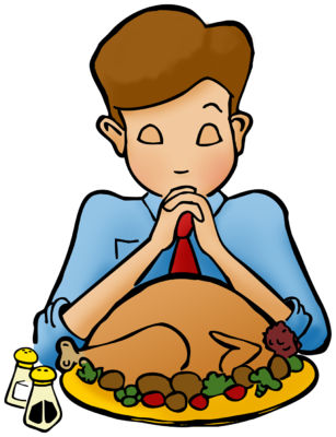 307x400 Thanksgiving Meal Clip Art Happy Thanksgiving