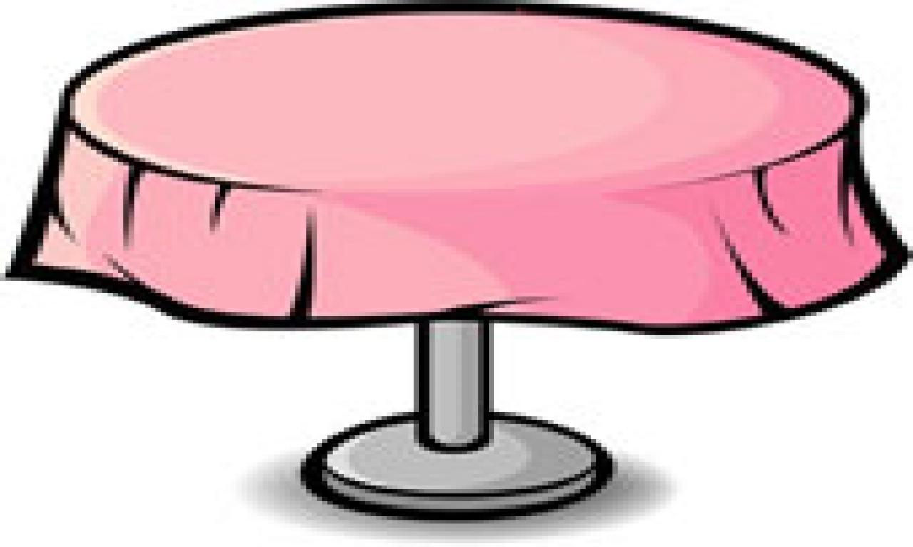 1280x768 Table Clip Art