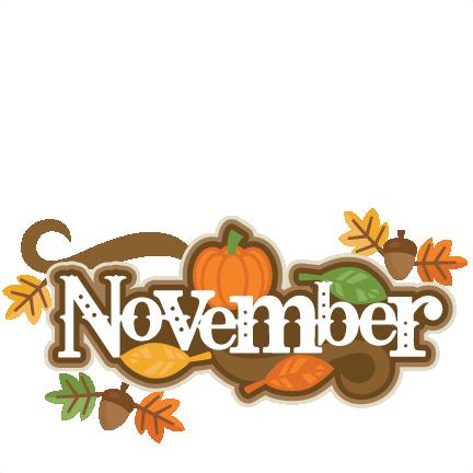 432x432 Clip Art November