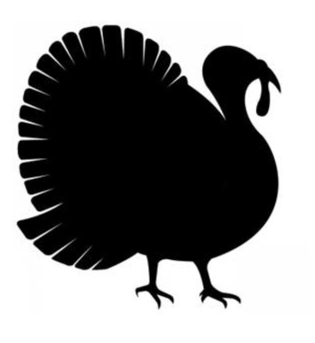 632x688 Turkey Clipart Shadow