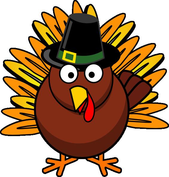 564x593 Clipart Thanksgiving Turkey