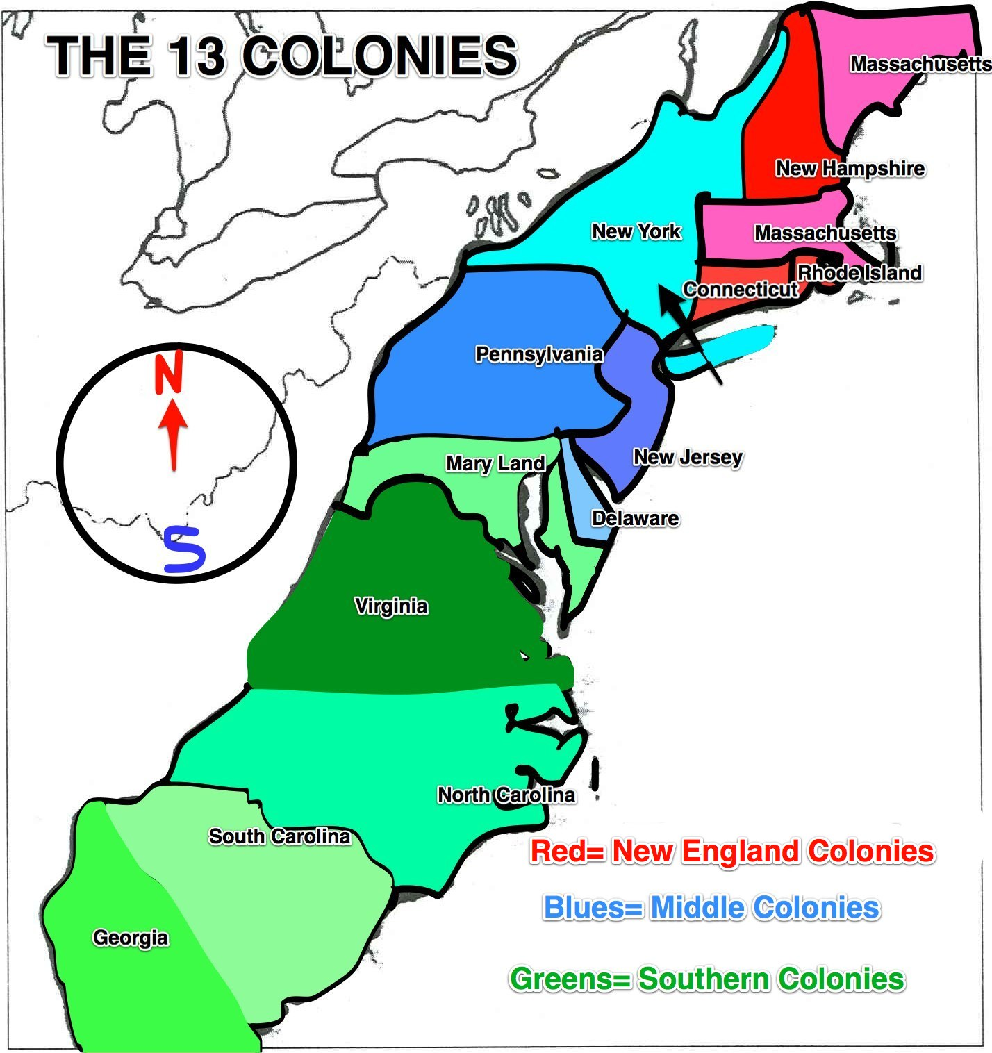 The 13 Colonies Clipart | Free download best The 13 Colonies Clipart ...