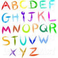 200x200 Alphabet Clipart