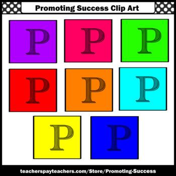 350x350 Letter P, Alphabet Letters Clip Art, Letter Sounds Clipart Sps Tpt