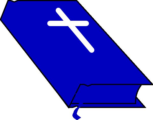 600x469 Blue Bible Clip Art
