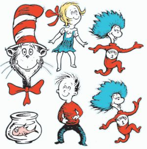 300x305 Free Cat In The Hat Clip Art Clipart Panda
