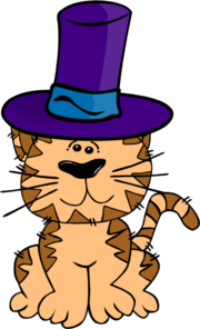 180x296 Cat In A Hat Clip Art