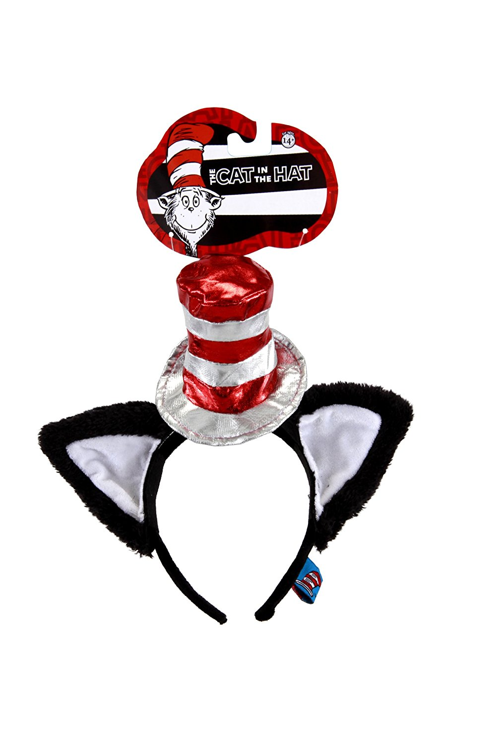 1000x1500 The Cat In The Hat Deluxe Headband With Ears By Elope