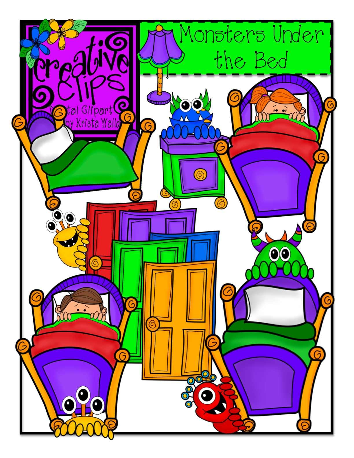 1224x1584 The Creative Chalkboard Day 2 {Freebie} Monster Writing Pages