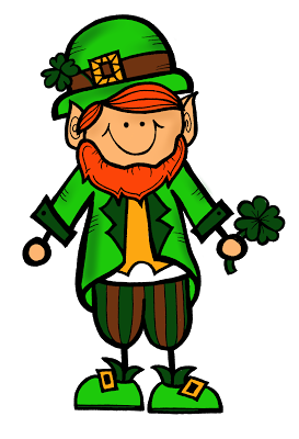 273x400 The Creative Chalkboard Free Little Leprechaun Clipart!