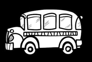 300x202 Coolest Bus Clipart Black And White The Creative Chalkboard Free