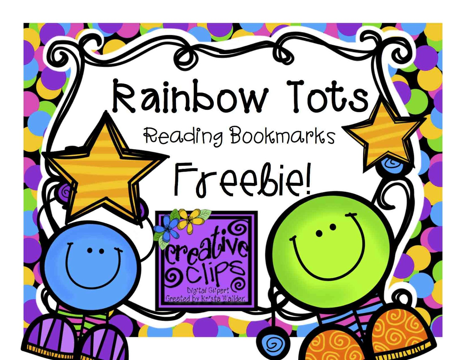 1600x1236 The Creative Chalkboard Free Super Star Reader Bookmarks!