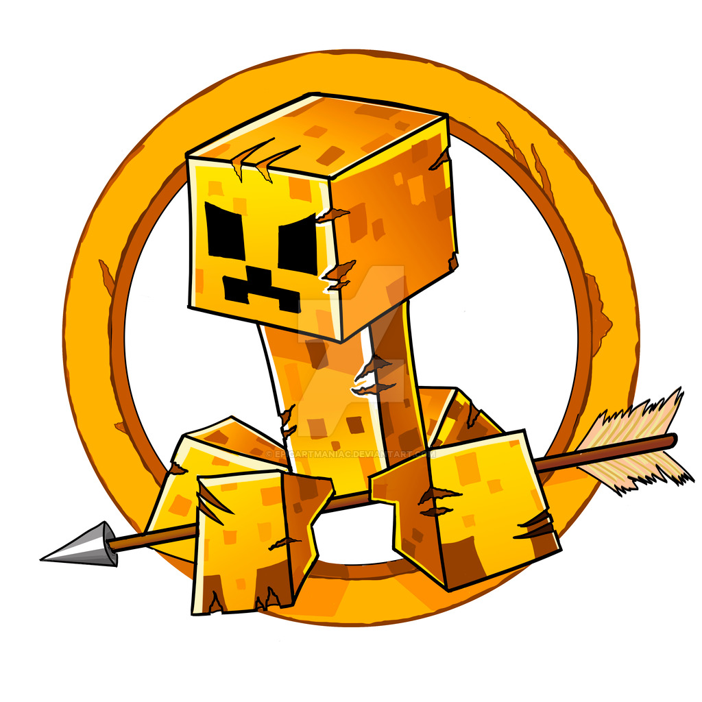 1024x1024 Minecraft Hunger Games Logo By Epicartmaniac