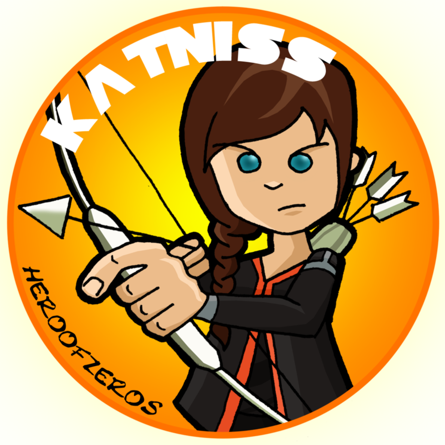 893x894 The Hunger Games Katniss By Heroofzeros