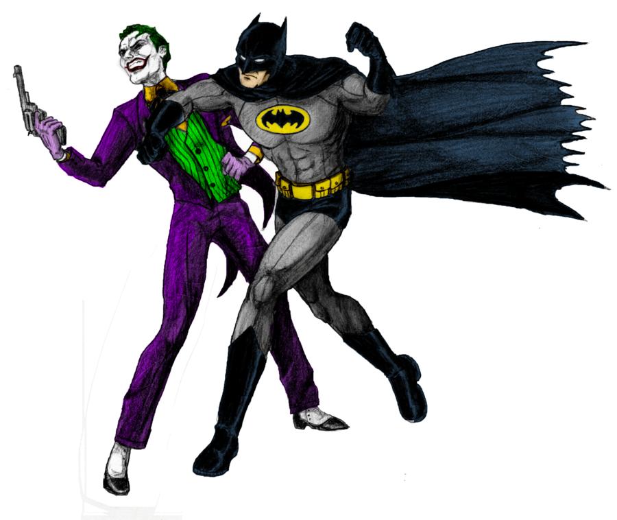 900x758 Batman Vs Joker Clipart