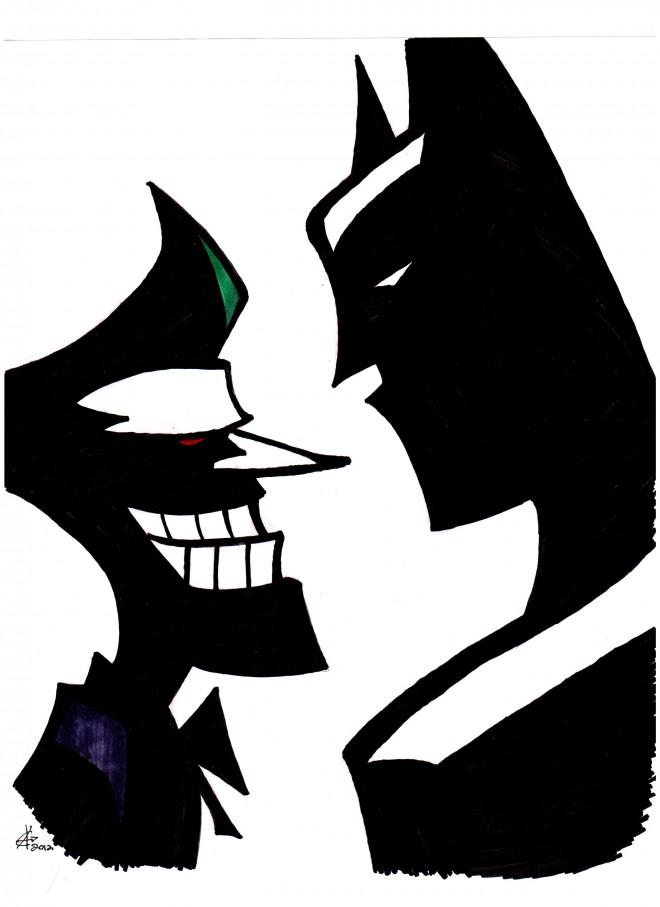 660x907 Batman Vs Joker Clipart