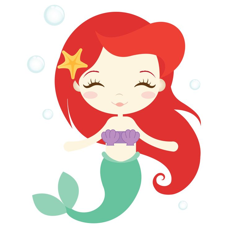 736x736 Top 90 Mermaids Clip Art